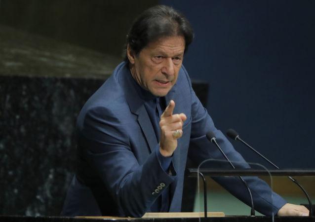 Pakistan Başbakanı İmran Han Birleşmiş Milletler (BM) Genel Kurulu'nda konuşma yaptı