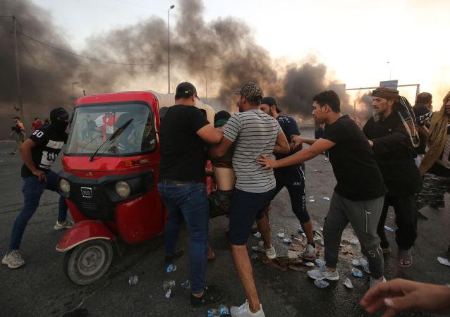 Irak'ta hükümet karşıtı gösteriler