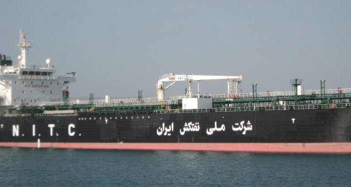 İran devletine bağlı Ulusal Tanker Şirketi'ne (NITC) ait tanker