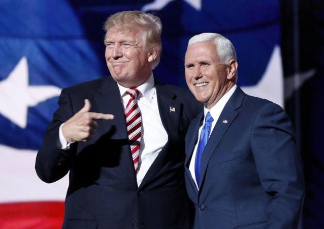 Donald Trump ve yardımcısı Pence