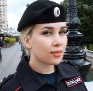 Rusya'nın polis güzelleri
