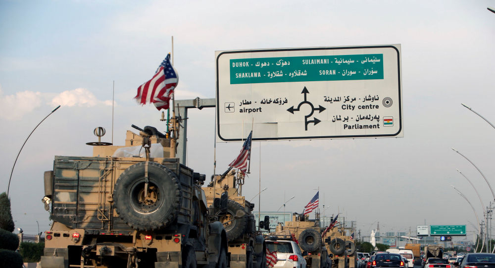 Suriye'den çekilen ABD askerleri, Erbil, IKBY