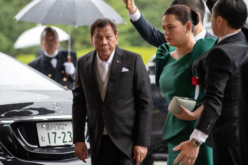 Filipinler Devlet Başkanı Rodrigo Duterte de konuklar arasındaydı.