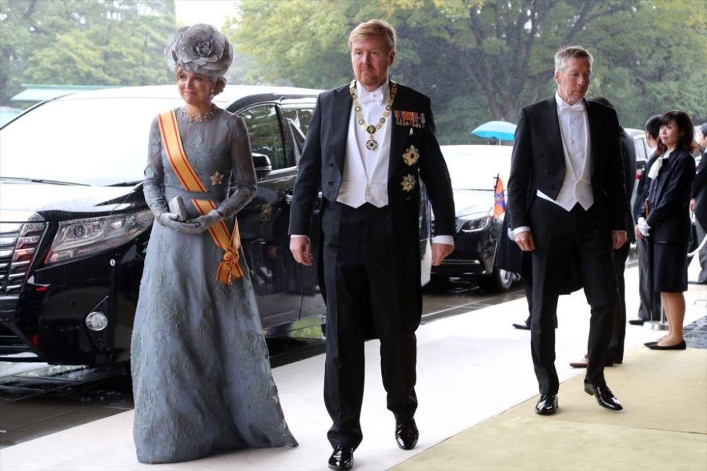 Törene Hollanda Kralı Willem Alexander ile Hollanda Kraliçesi Maxima da katıldı.