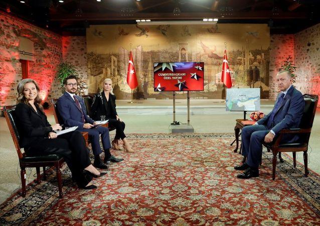 Türkiye Cumhurbaşkanı Recep Tayyip Erdoğan, TRT ortak yayınındaki Cumhurbaşkanı Özel programında gündeme ilişkin açıklamalarda bulundu.