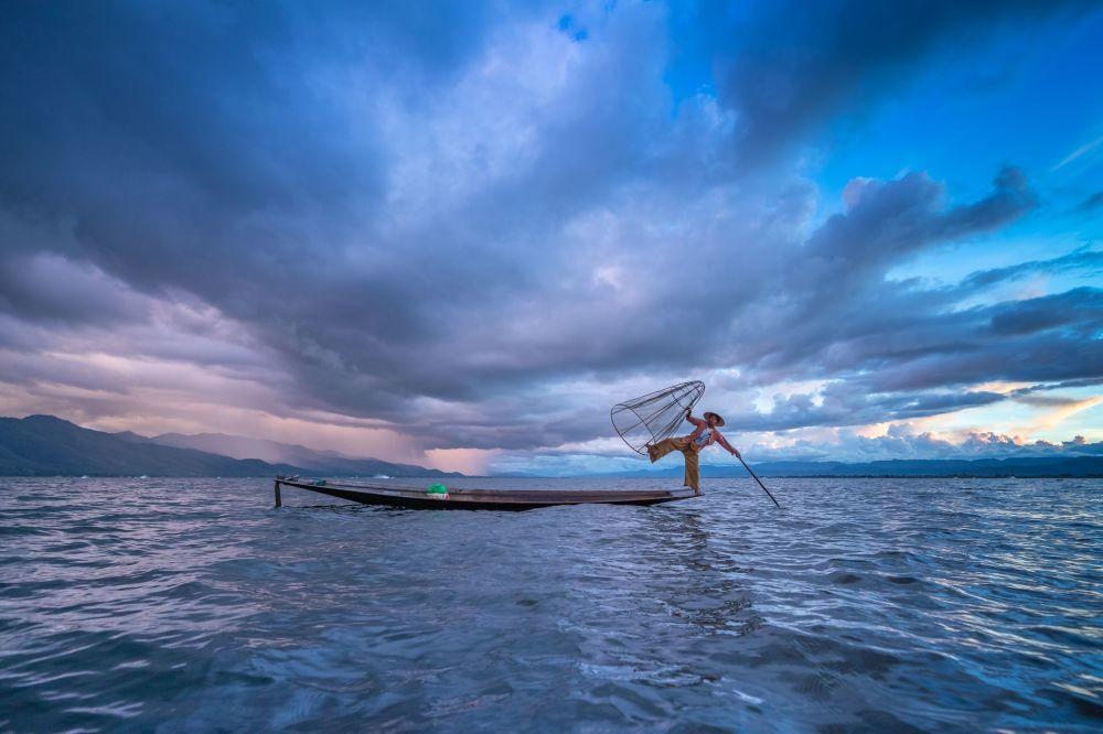 Vietnamlı yarışmacı Phyo Thein Kha'nın 'Mavi Gökyüzü' isimli çalışması.