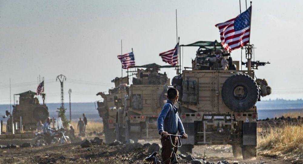 Suriye  - ABD askerleri -  ABD askeri araçları