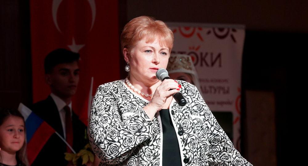 İstoki Uluslararası Festivali Başkanı Yekaterina Sergeyeva
