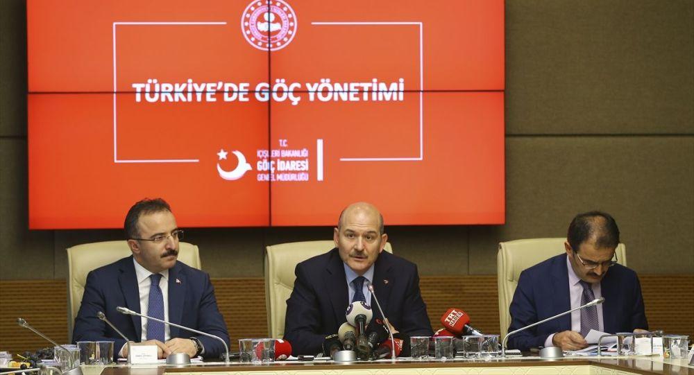 İçişleri Bakanı Süleyman Soylu, Türkiye'de göç yönetimine ilişkin TBMM İçişleri Komisyonuna bilgi verdi.