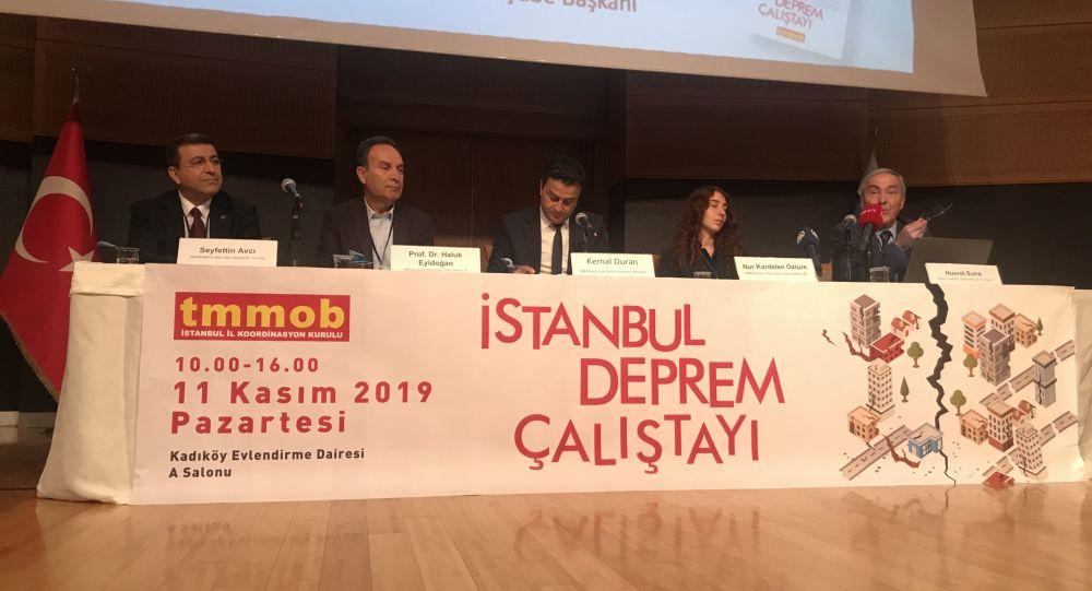 Türk Mühendis ve Mimar Odaları Birliği (TMMOB), 1999 Büyük Marmara depreminin sonrasında gerçekleşen Düzce depreminin 20. yılında, İstanbul Deprem Çalıştayı'nı gerçekleştiriyor.
