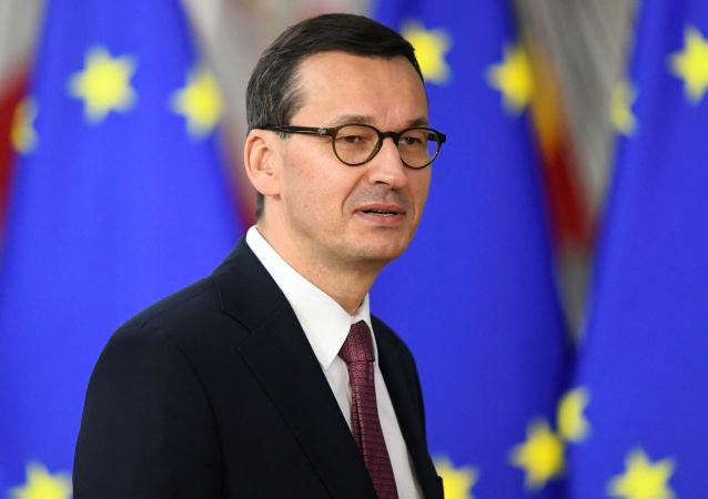 Polonya Başbakanı Mateusz Morawiecki AB liderler zirvesinde