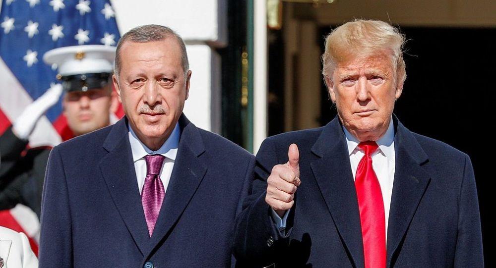 Donald Trump - Recep Tayyip Erdoğan