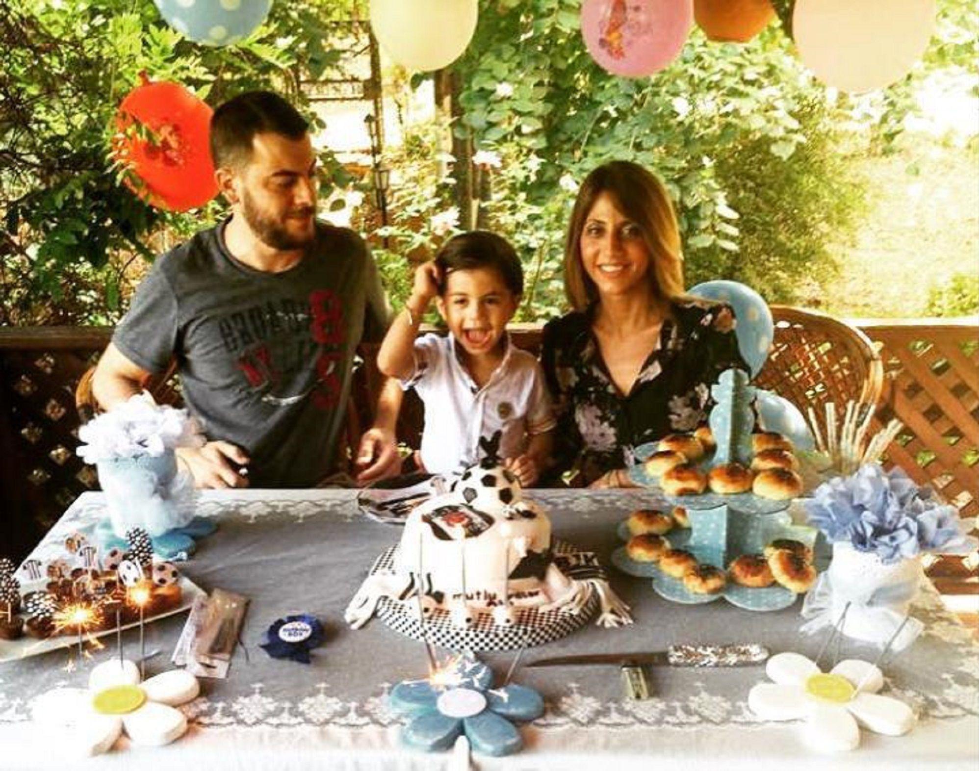 Bakırköy'de evlerinde ölü bulunan ailenin fotoğrafı.
