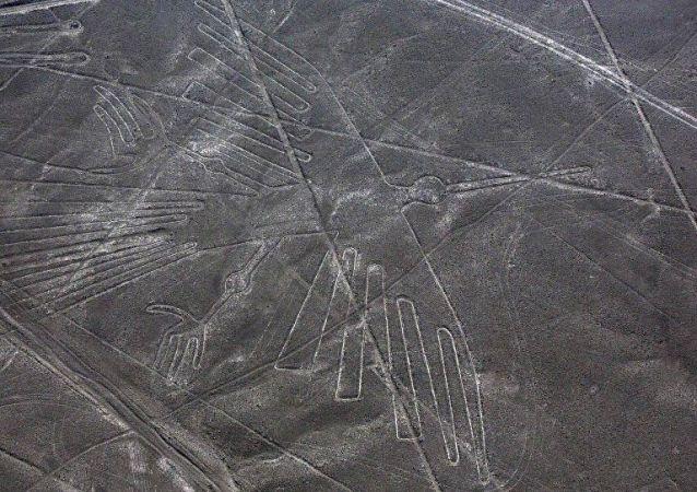 Peru'nun güneyindeki Nazca Platosu'nun devasa geoglifleri