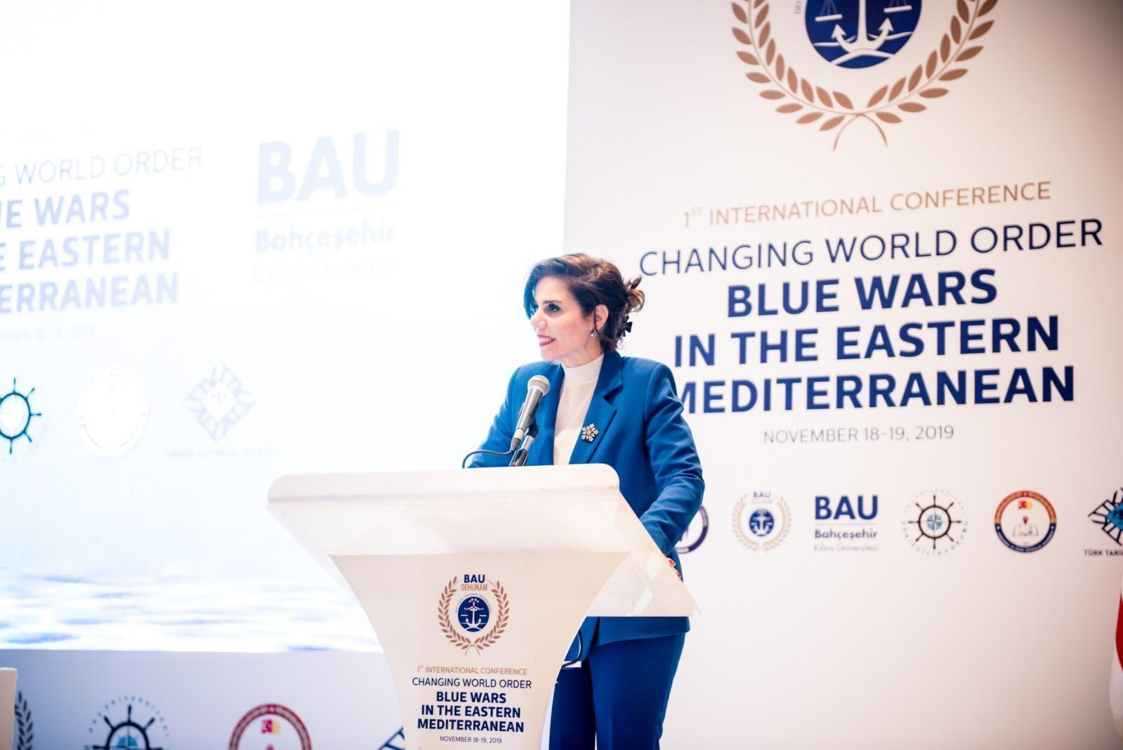 Bahçeşehir Kıbrıs Üniversitesi, Deniz Hukuku Uygulama ve Araştırma Merkezi (BAU-DEHUKA) Direktörü Dr. Emete Gözügüzelli Güney Kıbrıs, İsrail, Yunanistan'ın öncüsü olduğu EastMED boru hat projeleri sadece bir hayaldir. Zira bölgede Türkiye dahil edilmeksizin herhangi bir adım atmaları mümkün değildir dedi.