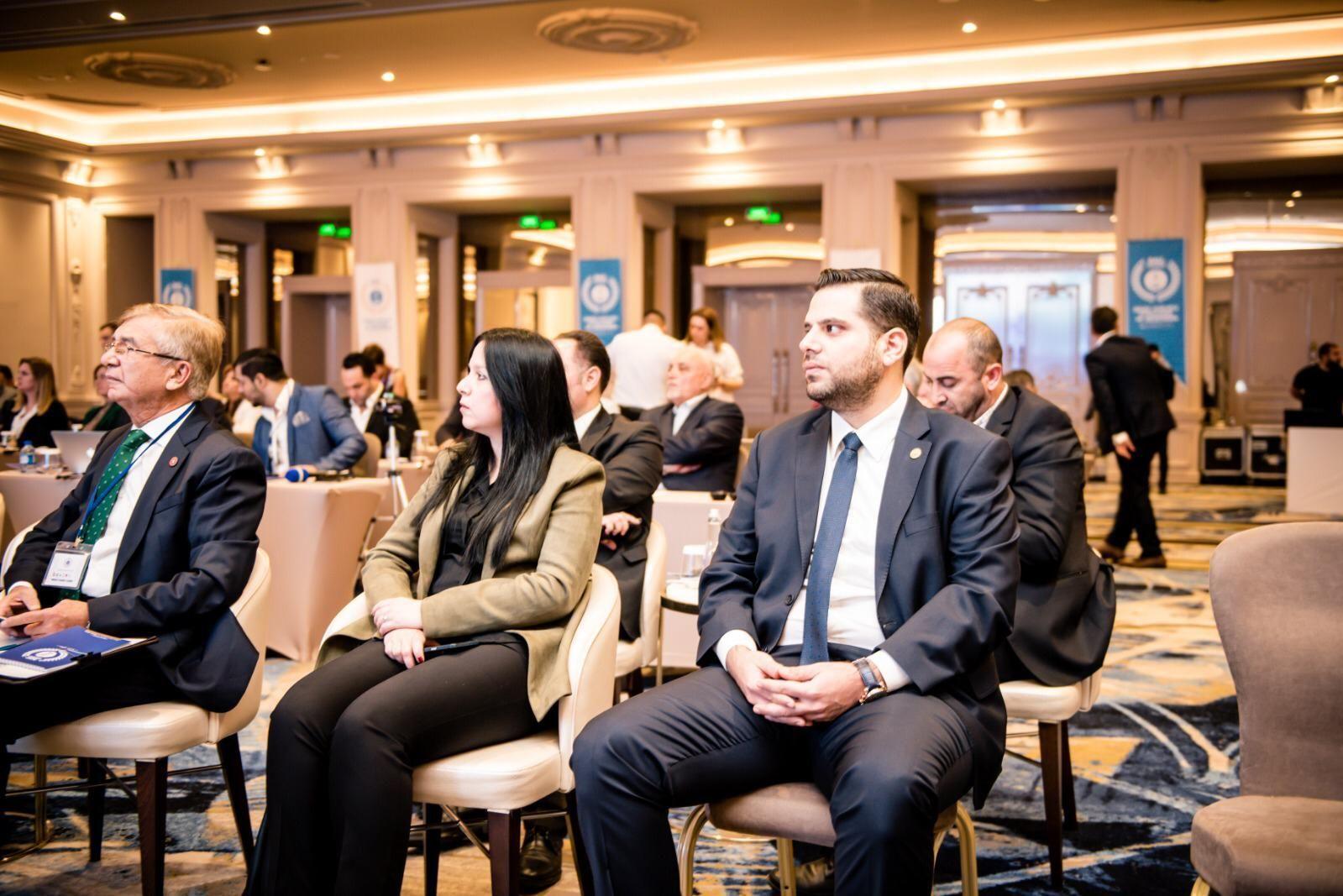 Kuzey Kıbrıs'ta gerçekleşen 'Değişen Dünya Düzeni: Doğu Akdeniz'de Mavi Savaşlar Uluslararası Konferansı'ndan bir kare