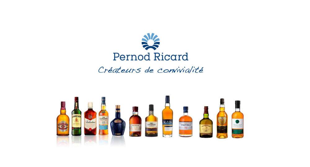 Fransız alkollü içki şirketi Pernod Ricard'ın bazı mamulleri