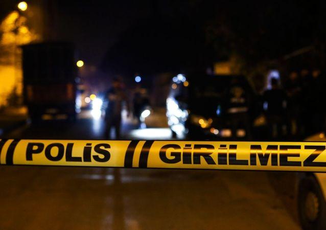 Polis, girilmez, olay yeri inceleme