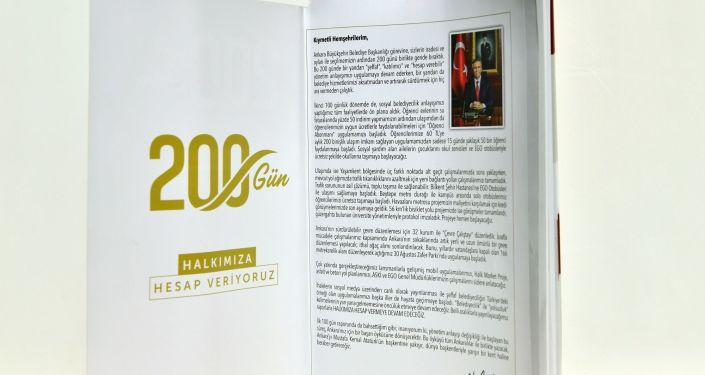 'Mansur Yavaş ile 200 Gün' adlı kitapçık