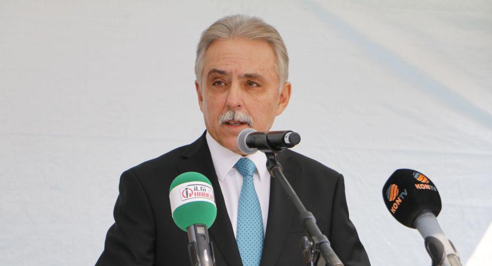 Konya Valisi Cüneyit Orhan Toprak