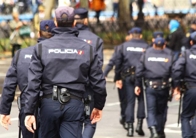 İspanya milli polisi