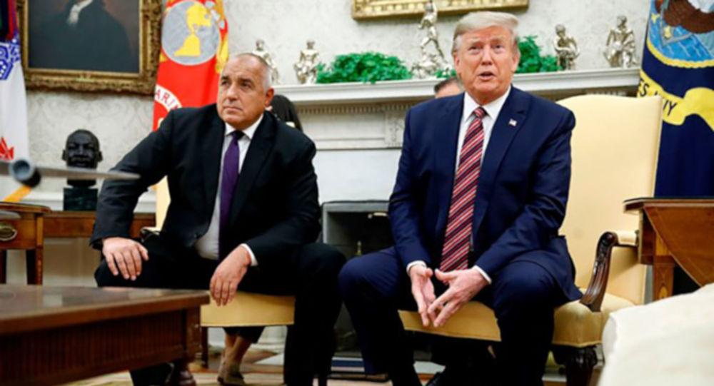 ABD Başkanı Donald Trump, Bulgaristan Başbakanı Boyko Borisov ile Beyaz Saray'da bir araya geldi.