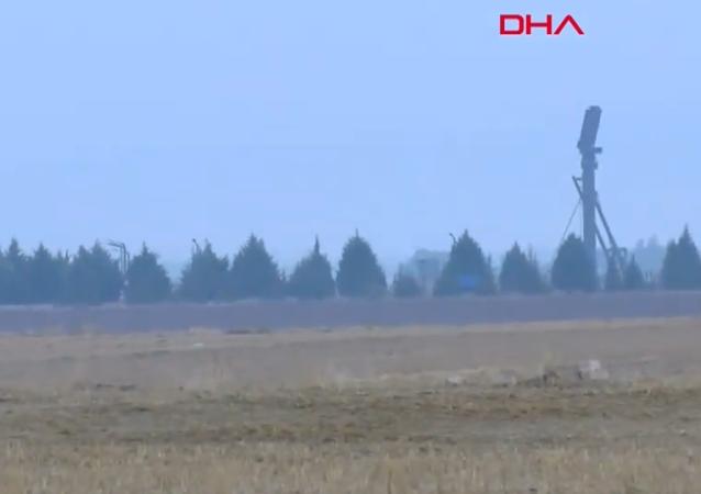 Ankara'da yapılan S-400 testlerinden görüntüler