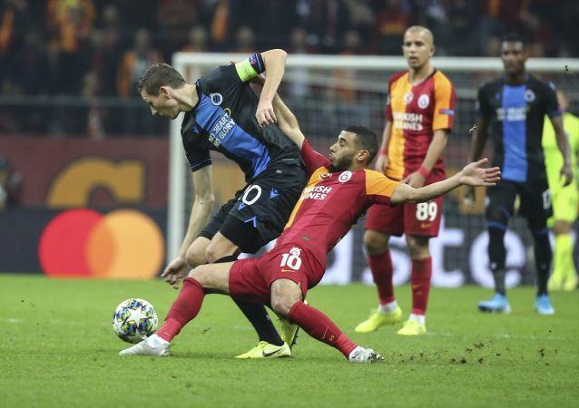 Galatasaray, UEFA Şampiyonlar Ligi A Grubu 5. hafta maçında Belçika'nın Club Brugge takımı ile 1-1 berabere kaldı.