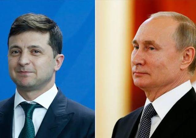 Vladimir Zelenskiy- Vladimir Putin