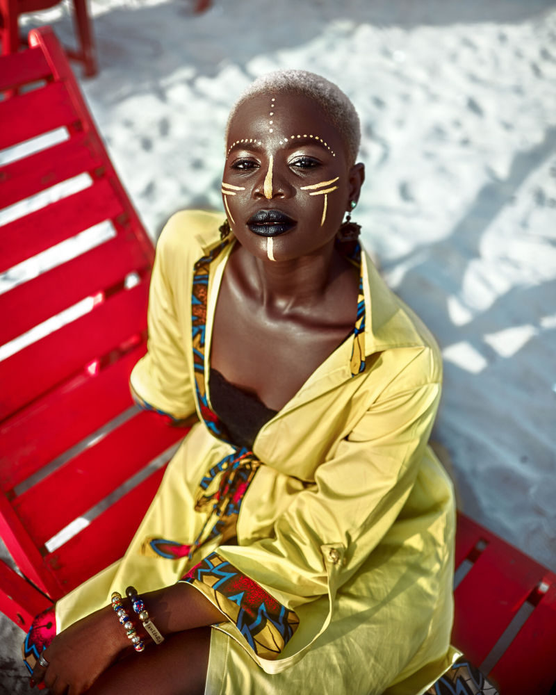Gana'dan fotoğrafçının Fashion at the Beach çalışması.