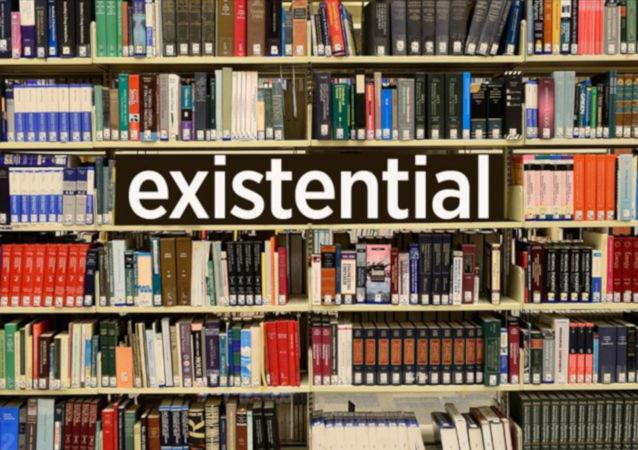 varoluşsal anlamına gelen existential
