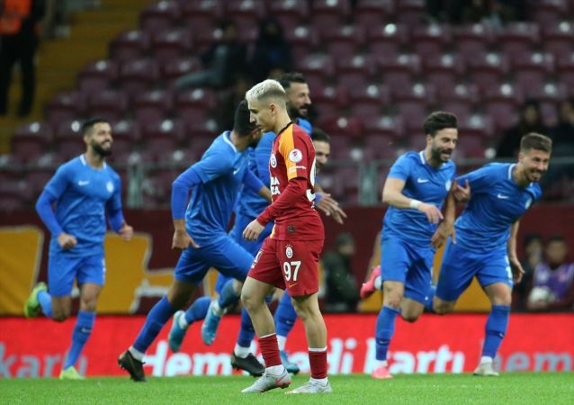 Tuzlaspor, Galatasaray'ı mağlup etti