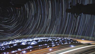Uluslararası Uzay İstasyonu'ndan çekilen Dünya görüntüsü.