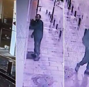 Ordu'da Ceren Özdemir'i bıçaklayarak öldüren Özgür Arduç'un, kaldığı otelin bulunduğu sokakta yürüdüğü görüntüler ortaya çıktı.