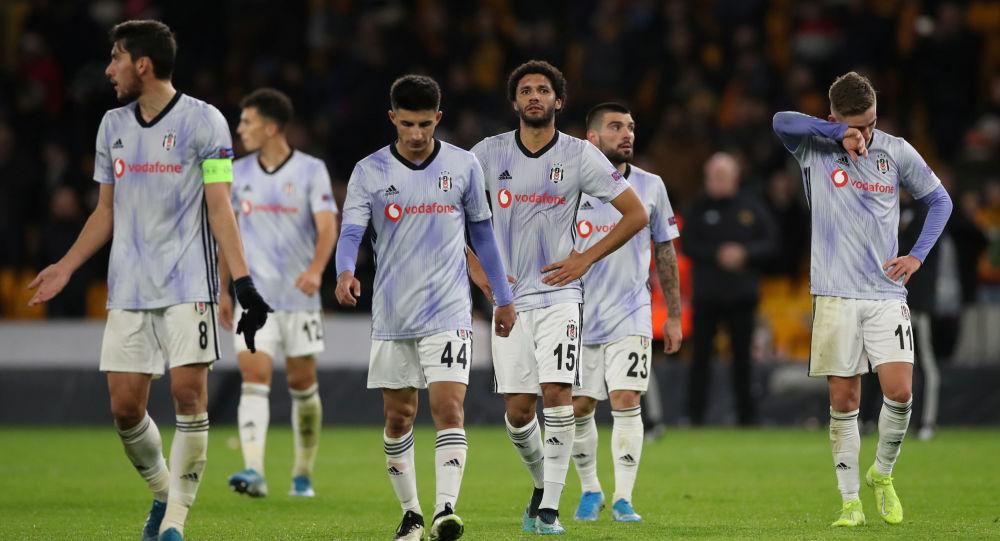 Beşiktaş UEFA Avrupa Ligi K Grubu son maçında Wolverhampton'a 4-0 yenildi