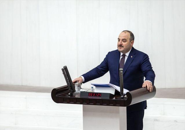 Sanayi ve Teknoloji Bakanı Mustafa Varank