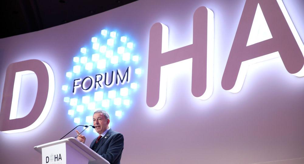 Akar, 19. Doha Forumu'nda konuştu: S-400'ler Türkiye için ihtiyaç