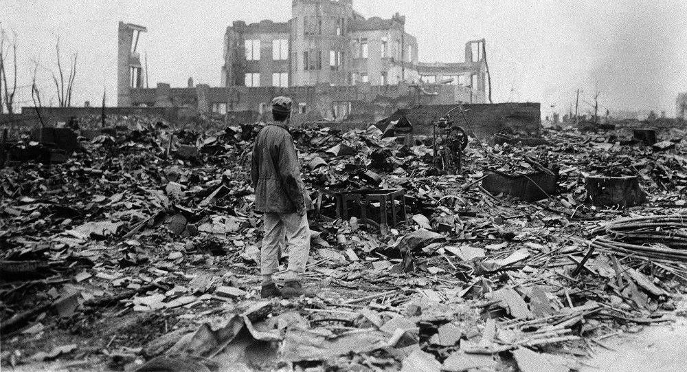 Hiroşima atom bombası sonrası