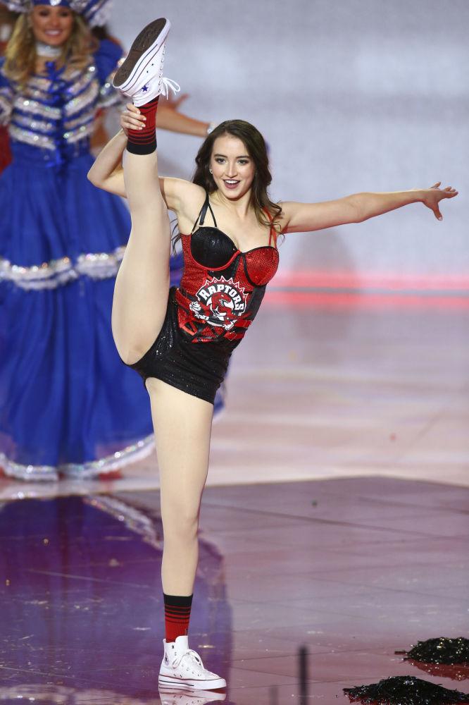 Kanada'yı temsil eden Naomi Colford
