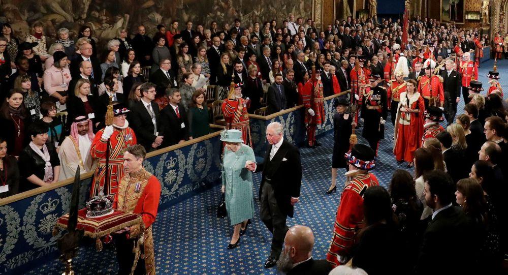 İngiliz Parlamentosu'nda yeni yasama yılı açıldı