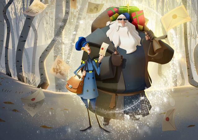 Dizi- film izleme platformu Netflix'in animasyon filmi 'Klaus'