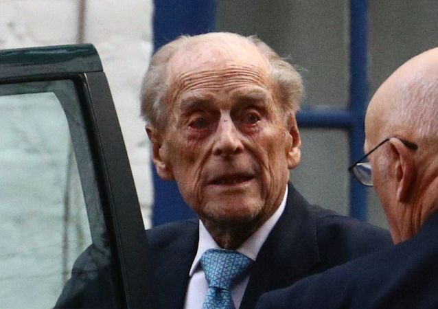 İngiltere Kraliçesi II. Elizabeth'in 98 yaşındaki eşi Prens Philip