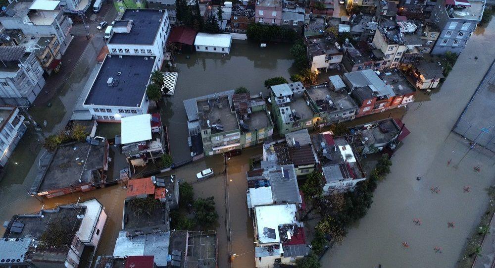 Adana yağmur sel