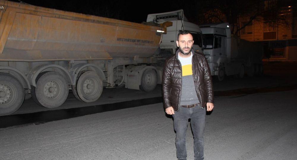 İstanbul'da park halindeki tır çalındı