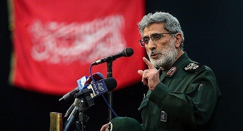 ABD tarafından öldürülen Kasım Süleymani'nin yerine Kudüs Gücü Komuntanı olarak Tuğgeneral İsmail Kaani
