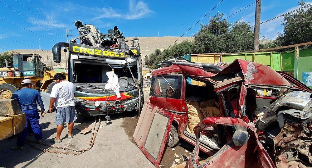 Peru'da kaza