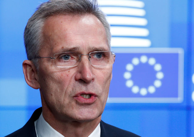 NATO Secretary General Jens Stoltenberg holds a news conference at a European Union foreign ministers emergency meeting to discuss ways to try to save the Iran nuclear deal, in Brussels, Belgium, January 10, 2020. REUTERS/Francois Lenoir
