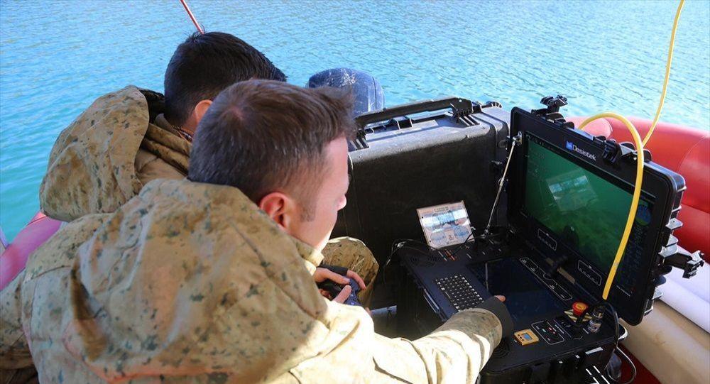 Gülistan Doku su altı kamera sistemiyle aranıyor