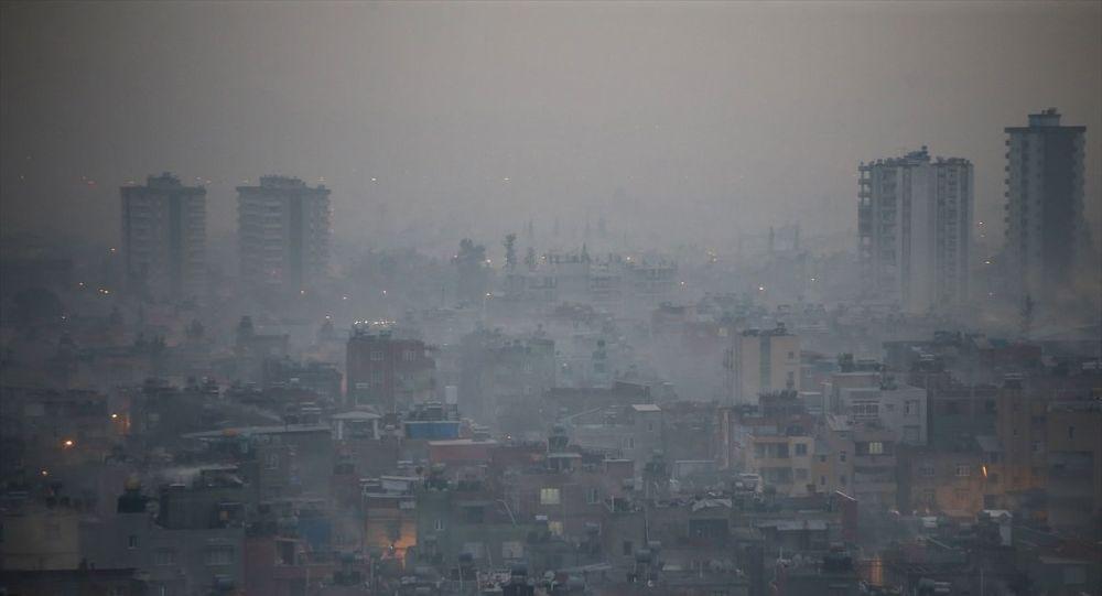 Adana'da hava kirliliği yaşamı olumsuz etkiledi