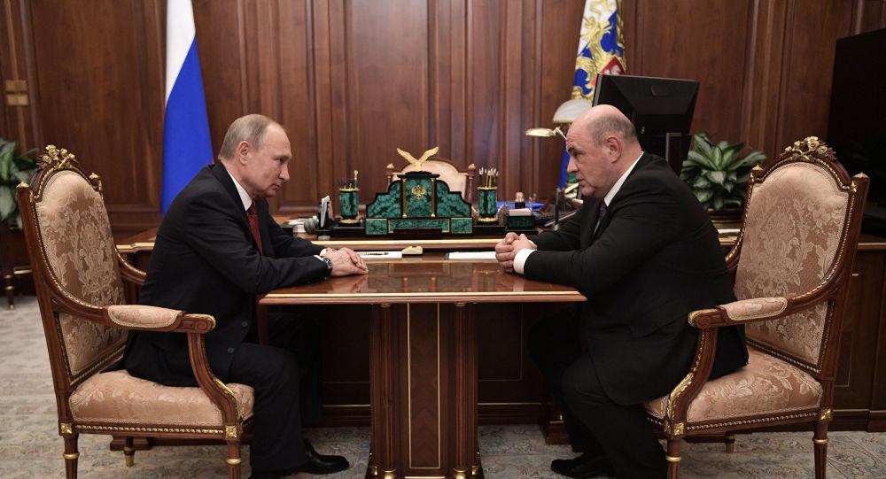 Vladimir Putin- Mihail Mişustin